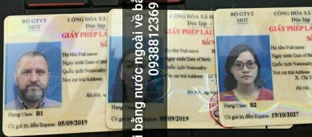 Những thủ tục đổi giấy phép lái xe cho người nước ngoài tại Việt Nam